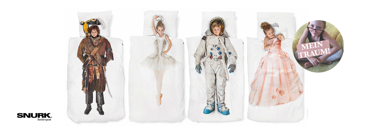 Kinderbettwäsche von SNURK ♥ für süsse Kinderträume