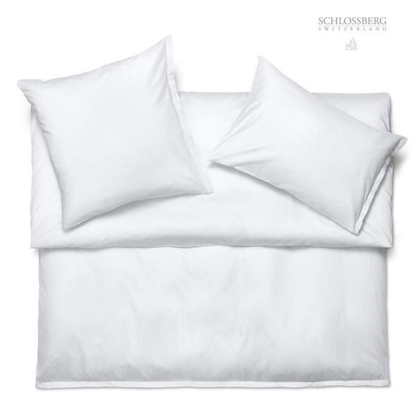 Schlossberg Bettwäsche CORDON blanc - Bettwäsche Satin Exquisit