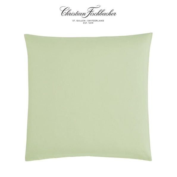 Fischbacher Bettwäsche Satin UNI graugrün