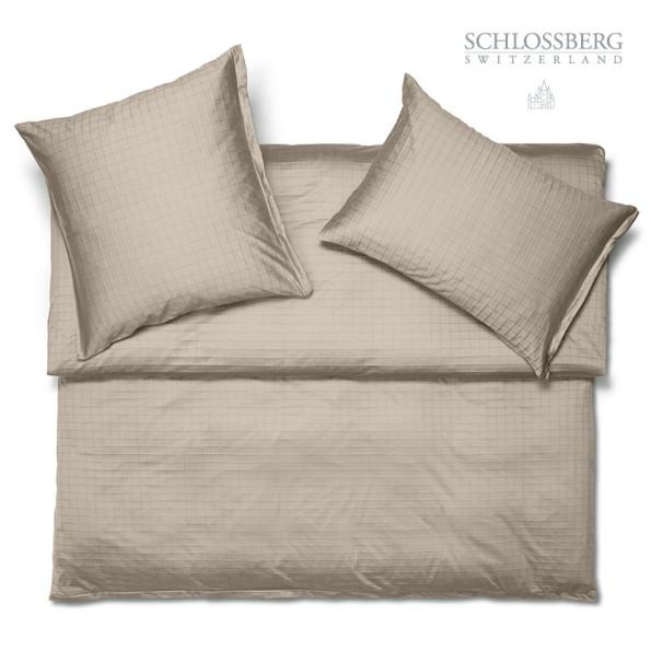 Schlossberg Bettwäsche KENT canne - Jersey Bettwäsche