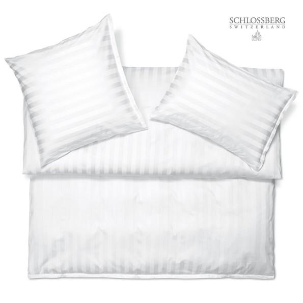 Satin Bettwäsche MARQUISE blanc - Schlossberg Bettwäsche Satin Exquisit