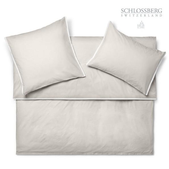 Schlossberg Bettwäsche Popeline PORTO beige