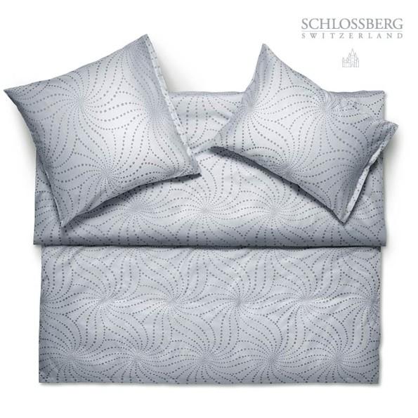 Schlossberg Bettwäsche Jacquard Deluxe YUKO gris