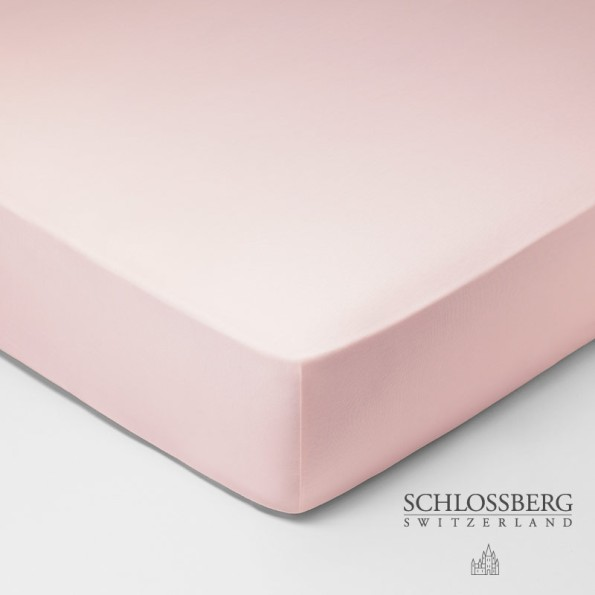 Schlossberg Fixleintuch Jersey Royal bonbon