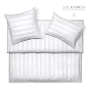 Schlossberg Bettwäsche JAMES blanc