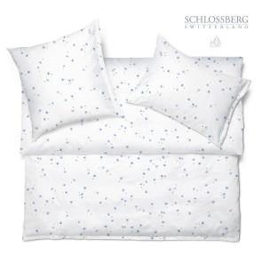 Schlossberg Bettwäsche Satin SUKI blanc