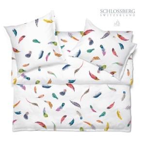 Schlossberg Bettwäsche Satin TINKA blanc