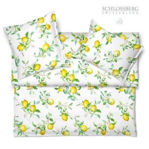 Schlossberg Bettwäsche Satin ZOE blanc